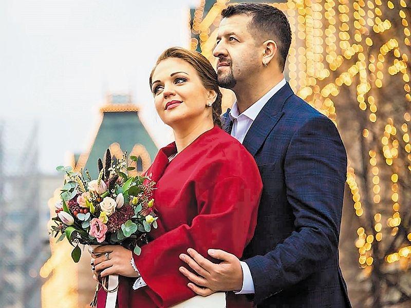 Марина Девятова с мужем // фото в статье: соцсети