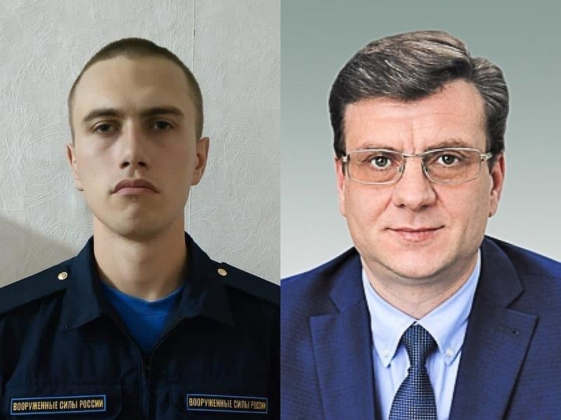 Антон Макаров и Александр Мураховский // фото: Global Look Press / Омский городской Совет
