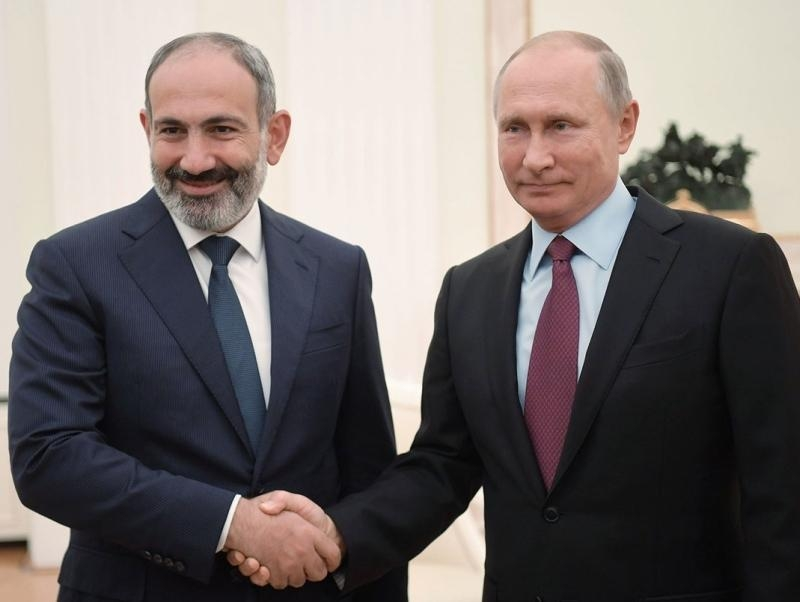 Никол Пашинян и Владимир Путин // Фото: Global Look Press
