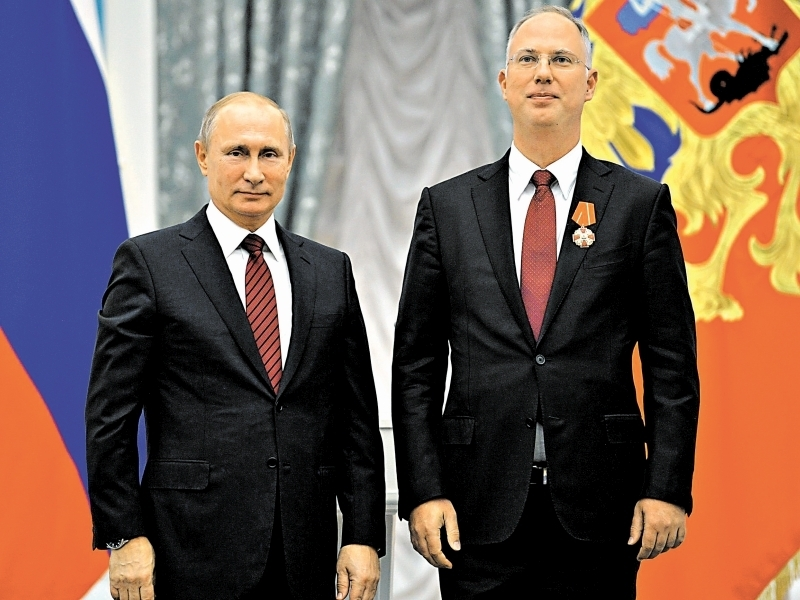 Кирилл Дмитриев с Владимиром Путиным // Фото: Global Look Press