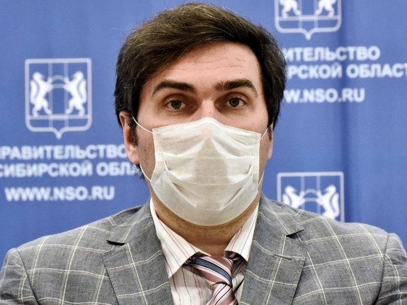 Константин Хальзов. Фото: Правительство Новосибирской области