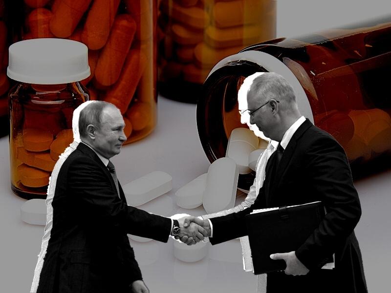 В руках у Кирилла Дмитриева – миллиарды // фото: Global Look Press