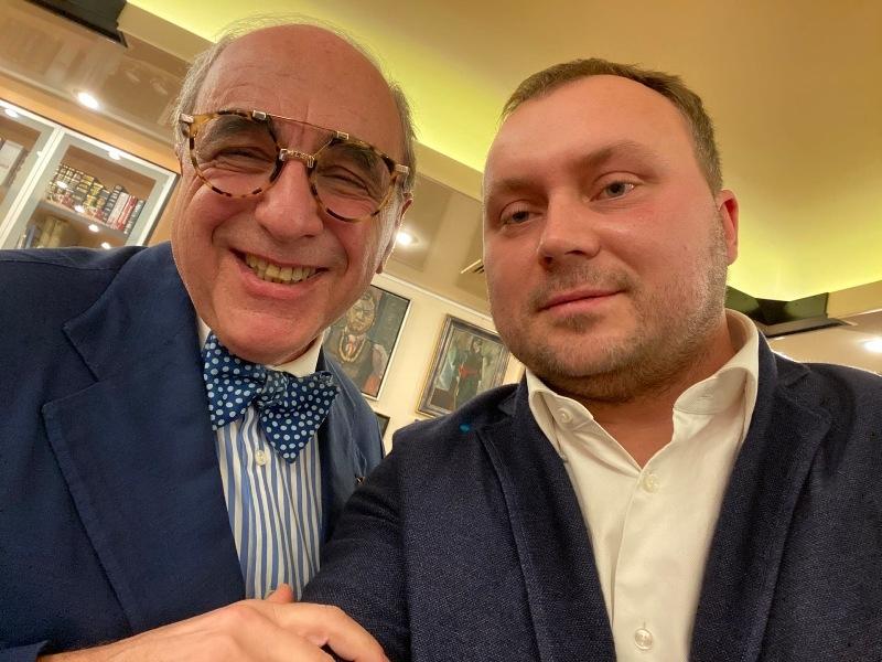 Андрей Алешкин и Александр Добровинский // Фото: Twitter
