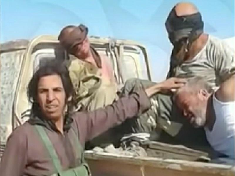 Пленение Цуркану и Заболотного боевики сняли и показали миру // Фото: Global Look Press
