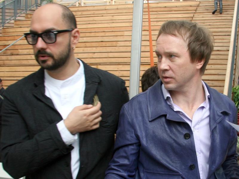 Кирилл Серебренников и Евгений Миронов