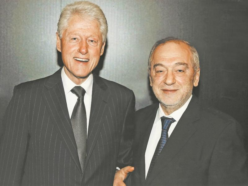 С президентом США Биллом Клинтоном
