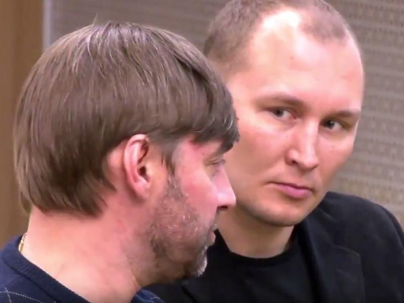 Сергей Железняк и Никита Лушников