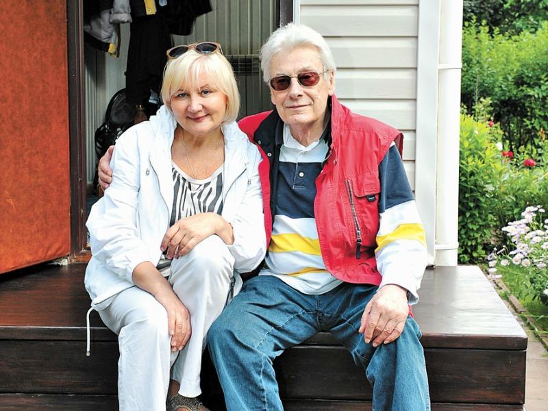Чумак нашел свое счастье со второй супругой – Людмилой