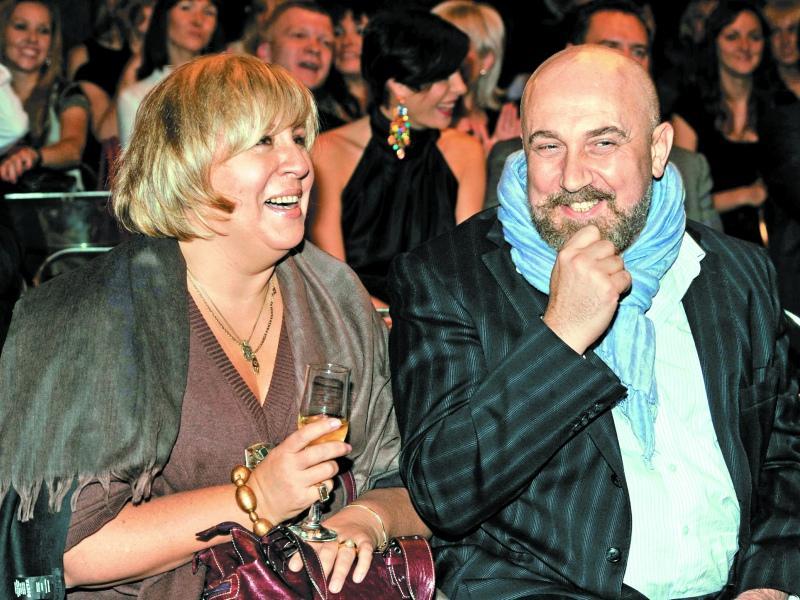 Она подарила своему лучшему другу, продюсеру Павлу Каплевичу, ангела...