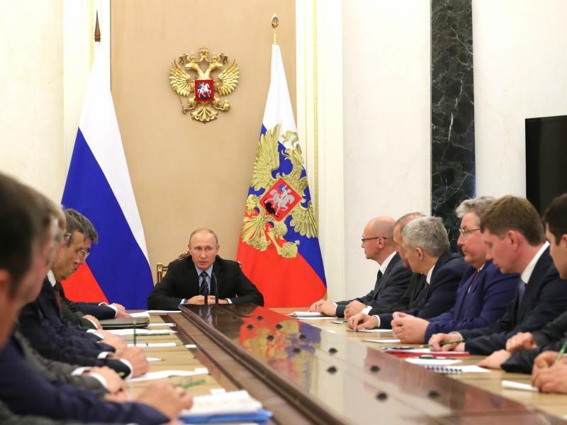 Владимир Путин на встрече с главами регионов 20.09.2017 // Фото: Global Look Press