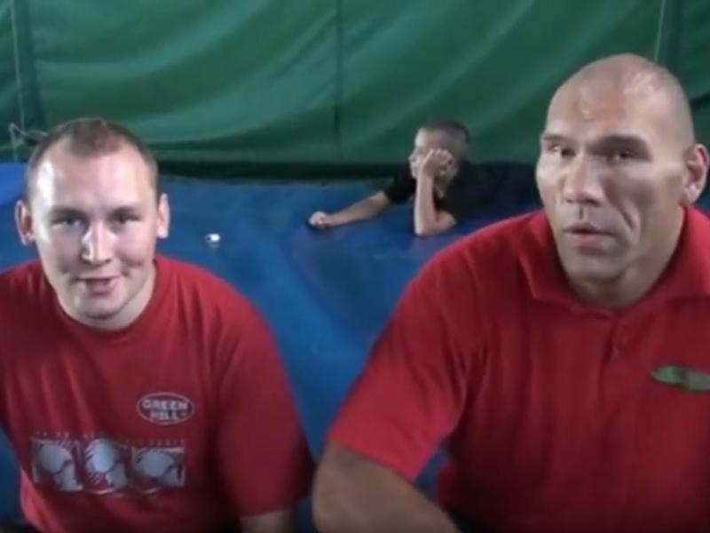 Николай Валуев и Никита Лушников