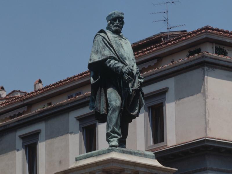Памятник Галилео Галилею во Флоренции // Фото: Global Look Press