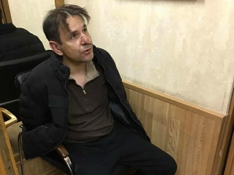 Борис Гриц ворвался в редакцию радиостанции «Эхо Москвы» и напал с ножом на Татьяну Фельгенгауэр // Фото: Global Look Press