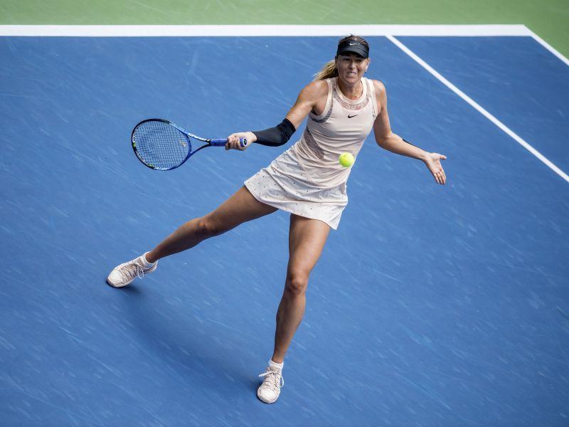 Через месяц после выступления на US Open (на фото) Мария Шарапова впервые за 10 лет участвует в «Кубке Кремля» // фото: ZUMA Press / Global Look Press
