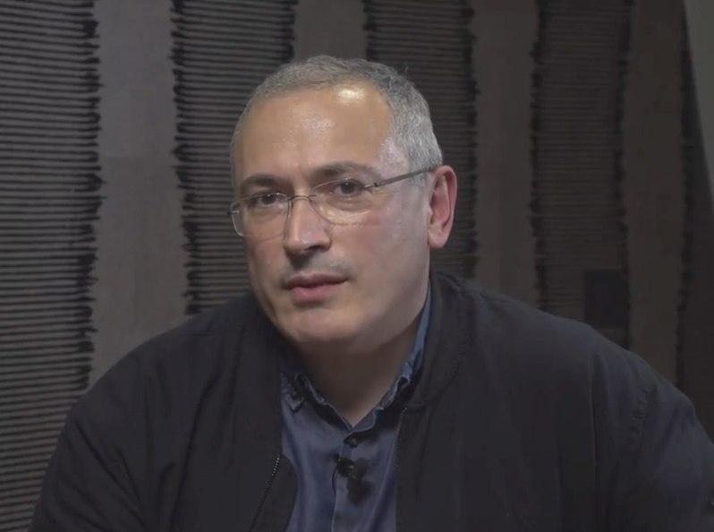 Михаил Ходорковский // фото: стоп-кадр YouTube