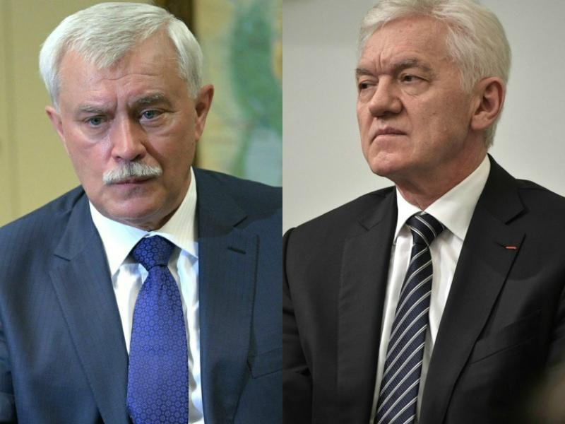 Георгий Полтавченко и Геннадий Тимченко // Фото: Global Look Press