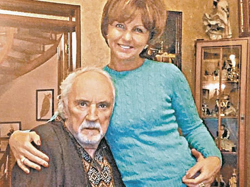 Борис Химичев и Елена Дмитриева // фото: личный архив Елены Дмитриевой