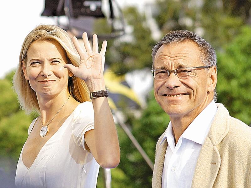 Юлия Высоцкая и Андрей Кончаловский // фото: Global Look Press