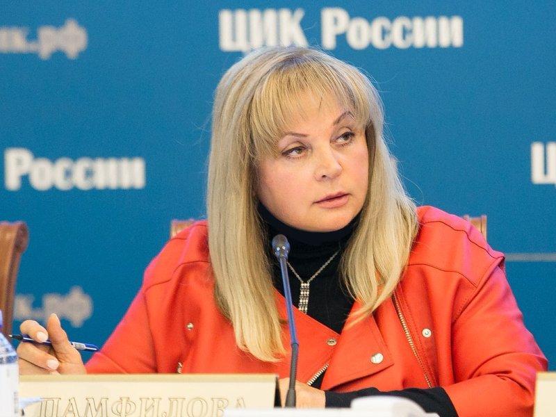 Элла Памфилова // фото: ЦИК России / Twitter / Global Look Press