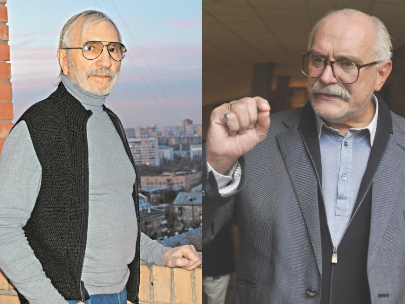 Слева: Виктор Мережко // фото: Альфия Камилова; справа: Никита Михалков // фото: Андрей Струнин