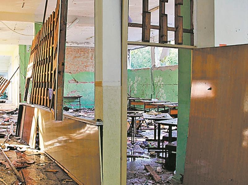 Так выглядели помещения колледжа в Керчи после взрыва и стрельбы
