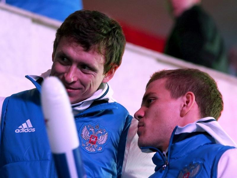 Павел Мамаев и Александр Кокорин // фото: Дмитрий Голубович / Global Look Press