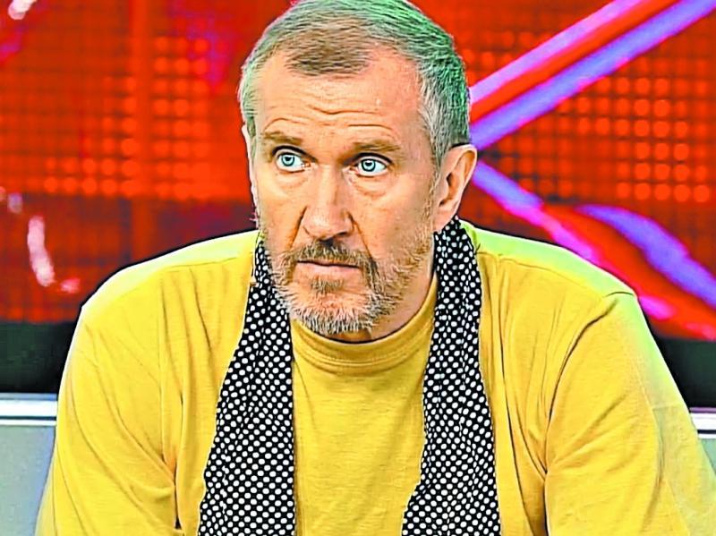 Владимир Ермаков в одном из телеэфиров