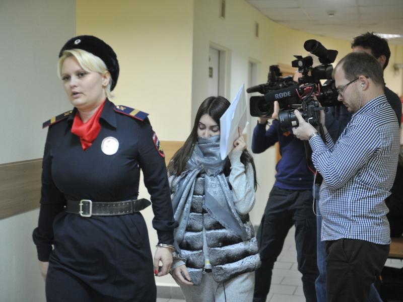 Мара Багдасарян в очередном суде // фото: Komsomolskaya Pravda / Global Look Press