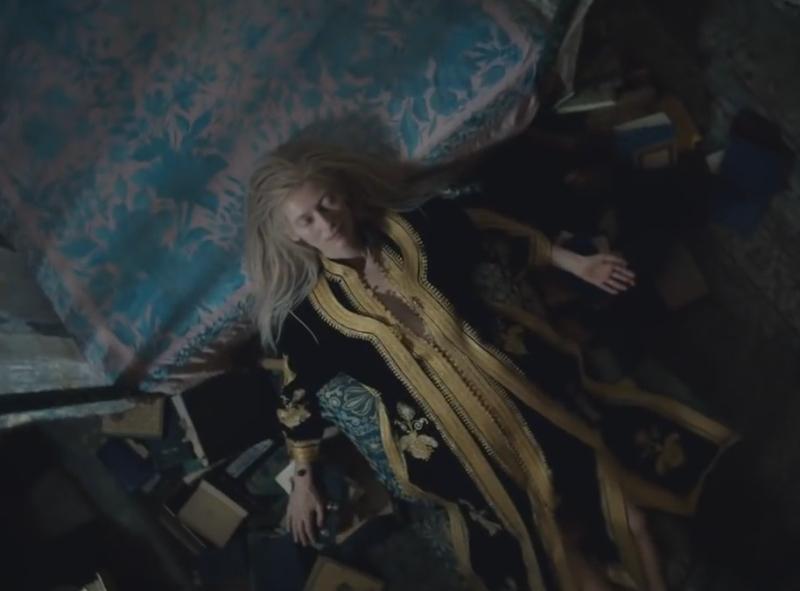 """Кадр из фильма """"Выживут только любовники"""" // Фото: скриншот с YouTube"""