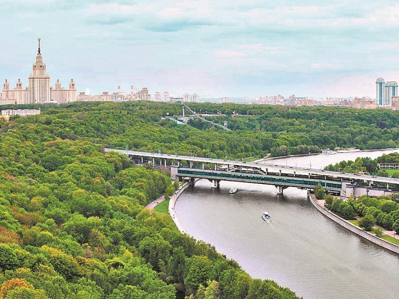 Воробьевы горы – седьмой холм Москвы. Жить здесь, наверно, что на седьмом небе