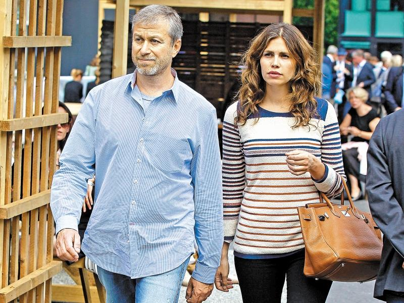 Год назад Роман и Дарья публично расстались // фото: Global Look Press