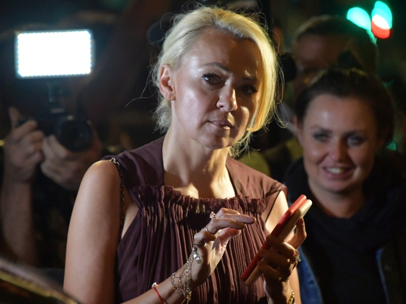 Яна Рудковская на свадьбе Ксении Собчак и Константина Богомолова. Фото: Komsomolskaya Pravda / Global Look Press
