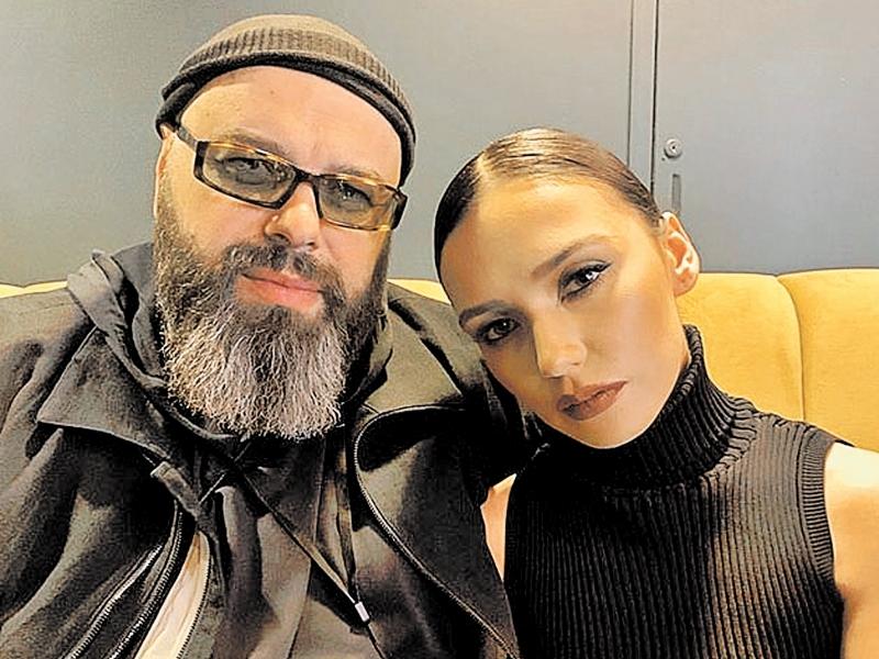 Фадеев и Серябкина // фото в статье: соцсети, Global Look Press