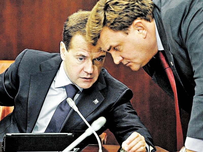 Медведев и Чуйченко