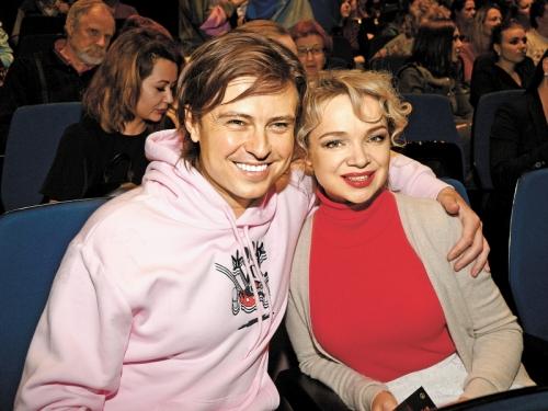 Виталина с Прохором Шаляпиным // фото: Global Look Press