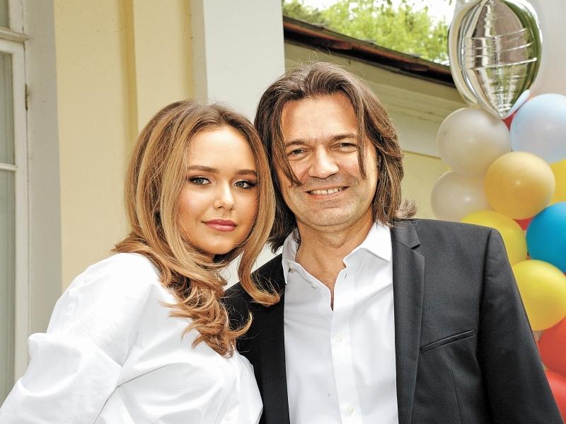 Дмитрий Маликов с дочерью. Фото: Global Look Press