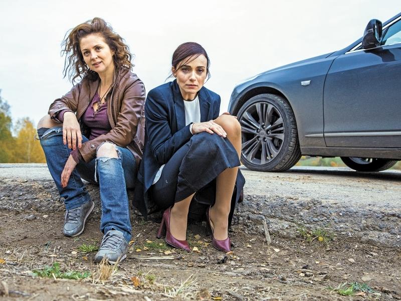 """На съемках """"Отчаянных"""" Снаткина гоняла на каблуках по вспаханному полю"""