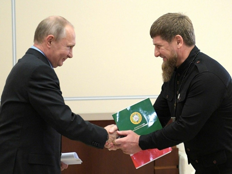 Владимир Путин и Рамзан Кадыров // Фото: Global Look Press