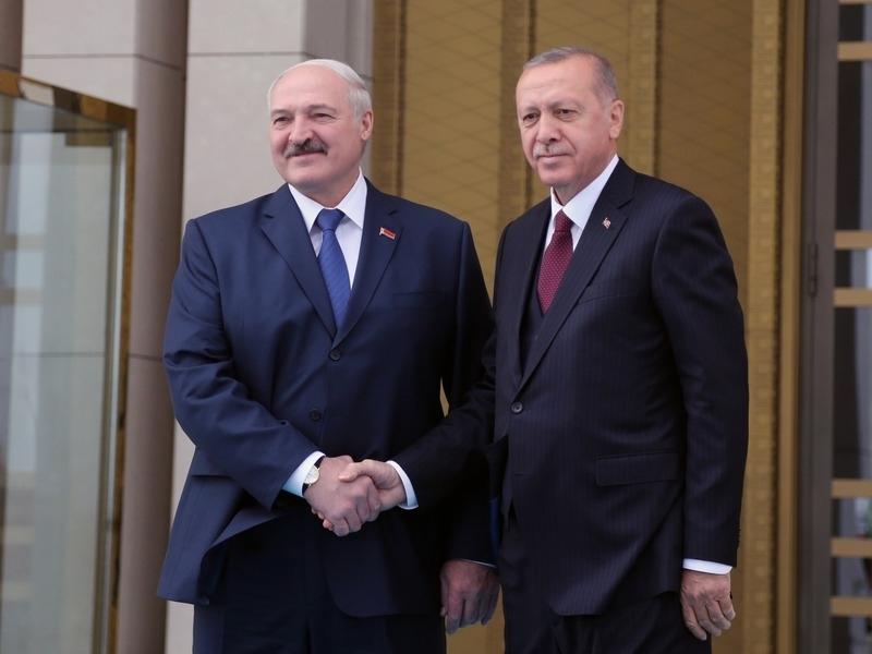 Александр Лукашенко и Реджеп Эрдоган // Фото: Global Look Press