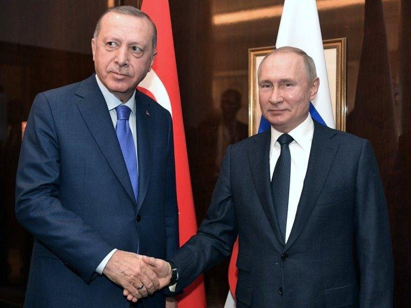 Режеп Эрдоган и Владимир Путин // Фото: Global Look Press