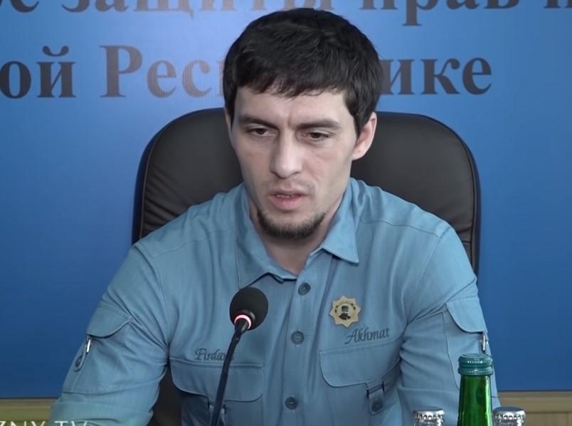 Висита Кадыров // Скриншот с видео на YouTube
