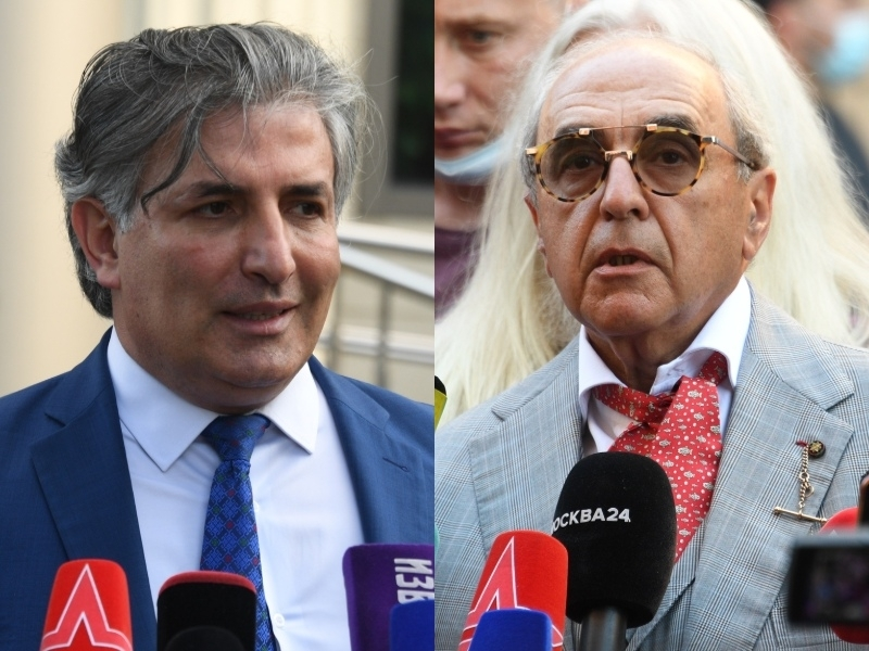 Эльман Пашаев и Александр Добровинский // Фото: Global Look Press