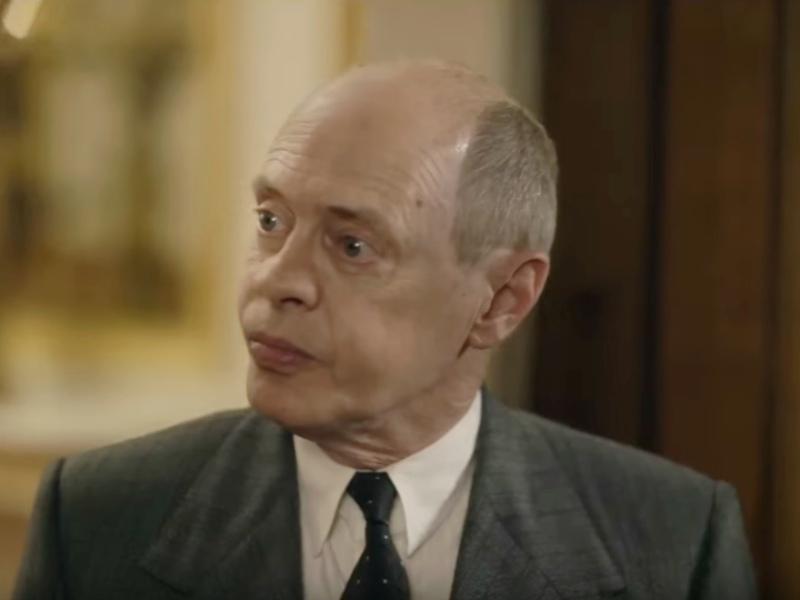 Стив Бушеми в роли Никиты Хрущева