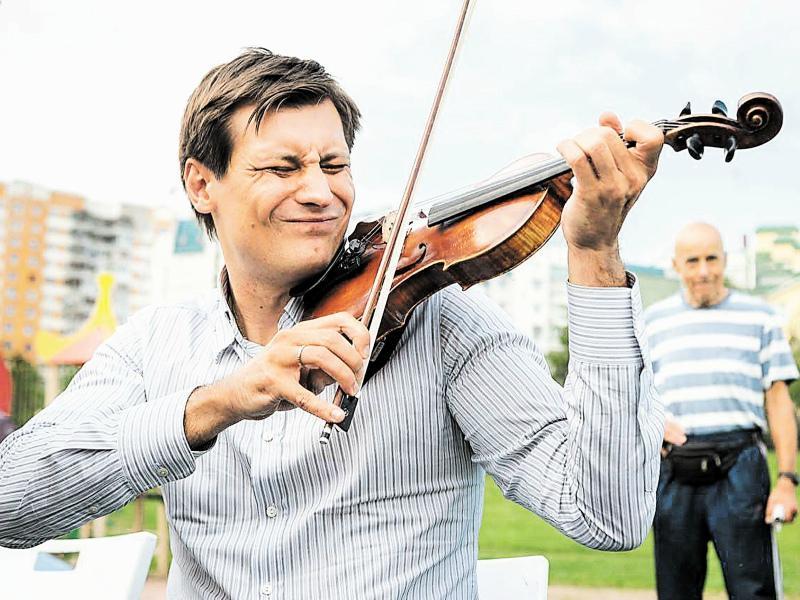Скрипка Гудкова вышла на первый план // Фото: из личного архива