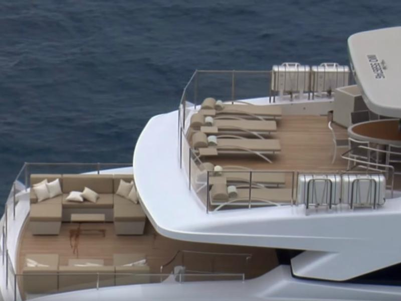 Такие яхты могут даже океаны бороздить
