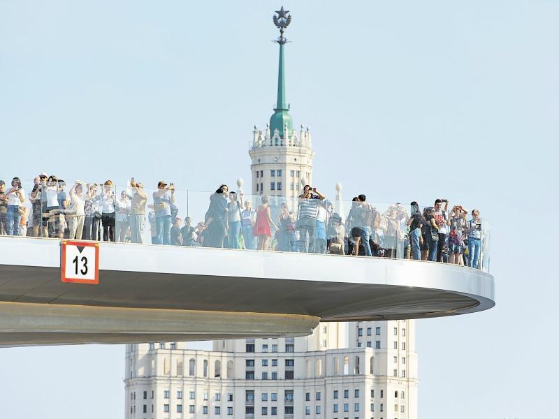Парящий мост на самом деле парит в воздухе