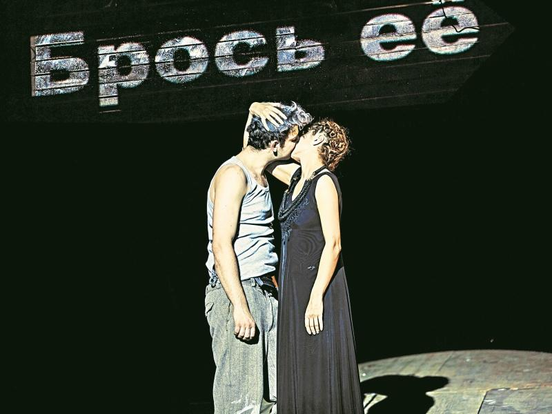 Семен Штейнберг и Виктория Исакова в «Каменном госте»