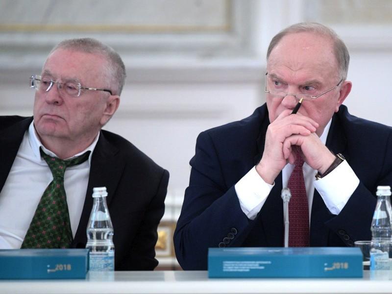 Владимир Жириновский и Геннадий Зюганов // фото: Kremlin Pool / Global Look Press