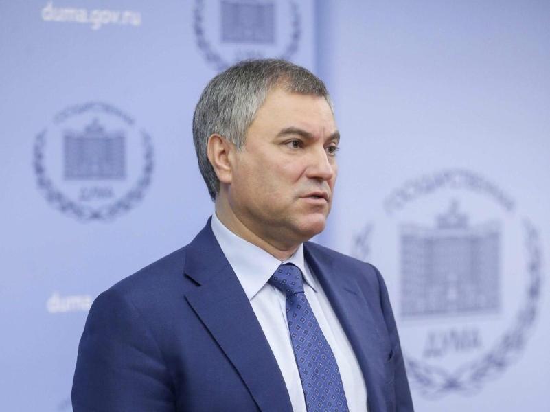 Спикер Госдумы Вячеслав Володин // фото: State Duma of Russian Federation / Global Look Press