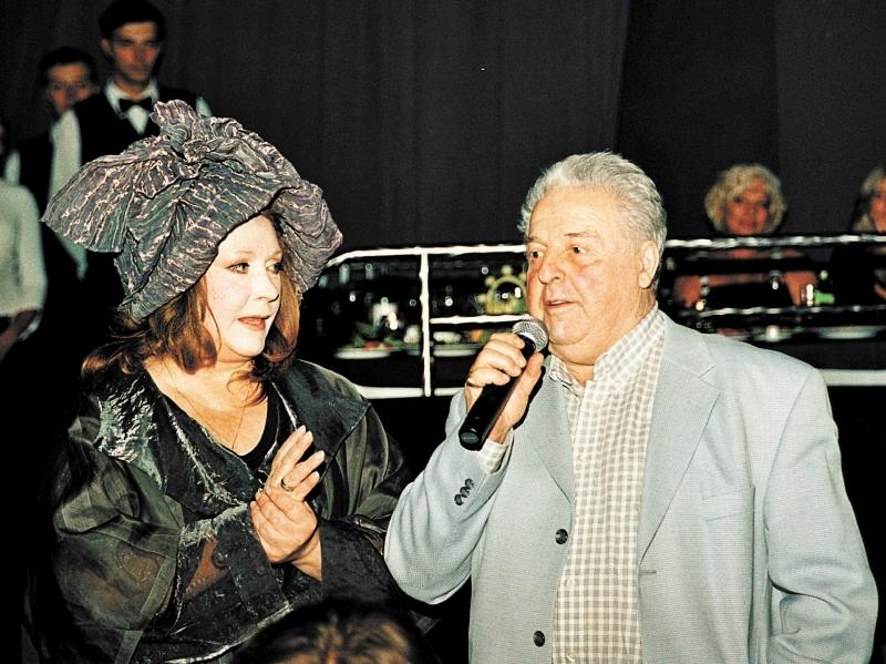 Алла Пугачева и Михаил Танич // фото: Анатолий Ломохов / Global Look Press